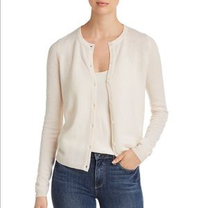 NWT Cashmere by Bloomingdale's Crewneck Cardigan